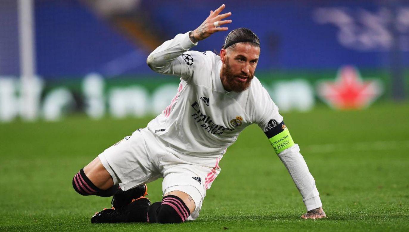 Sergio Ramos może odejść z Realu Madryt (fot. PAP/EPA/Neil Hall)
