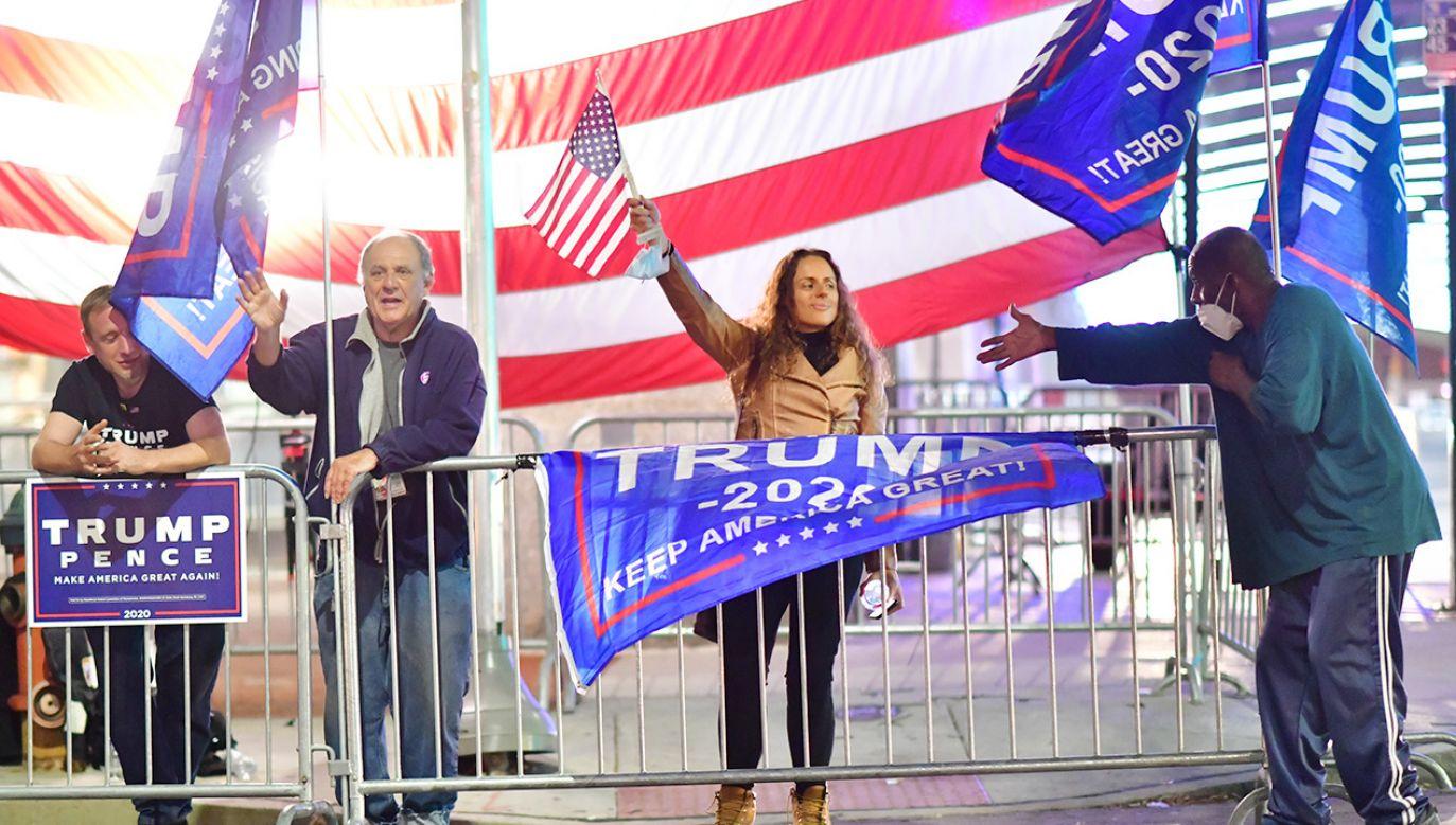 Donald Trump nie uznaje wyniku wyborów w USA (fot. Mark Makela/Getty Images)