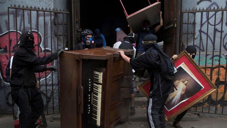 (fot. PAP/EPA/ORLANDO BARRIA)