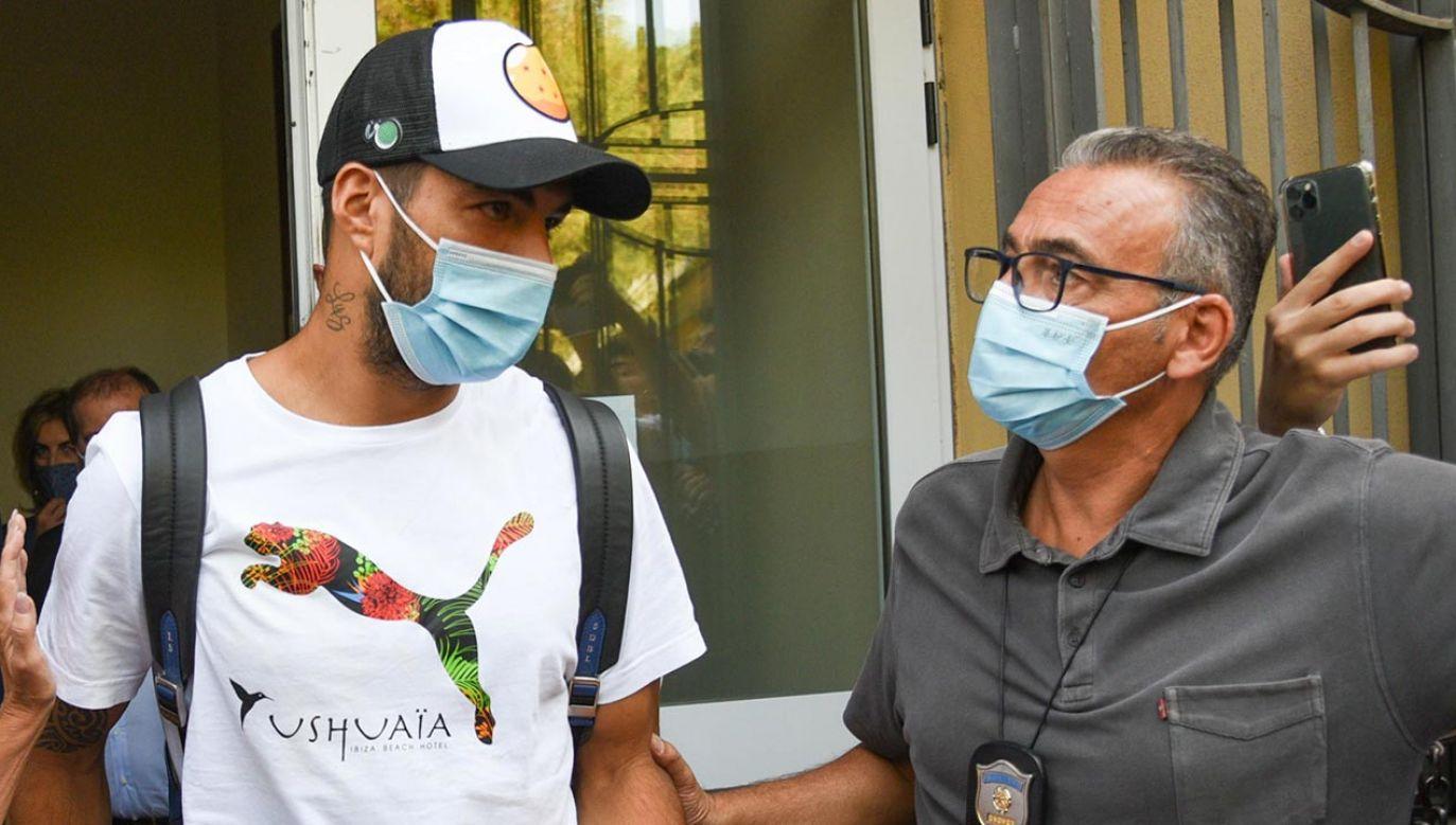 Luis Suarez miał zostać piłkarzem Juventusu (Fot. PAP/EPA/CROCCHIONI)