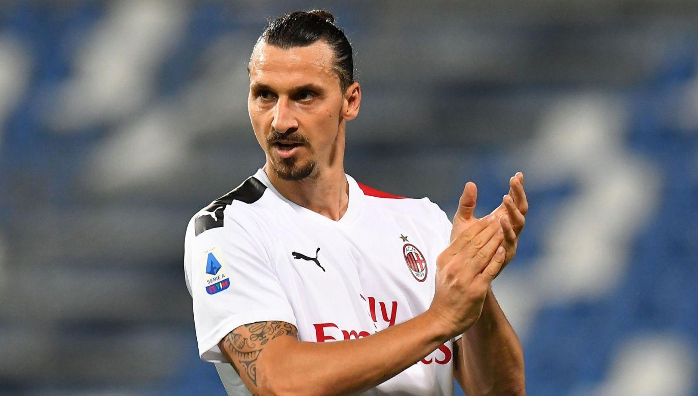 Krzysztof Piątek był jednym z rozczarowań Serie A. Przyćmił go Zlatan Ibrahimović (fot. Getty Images)