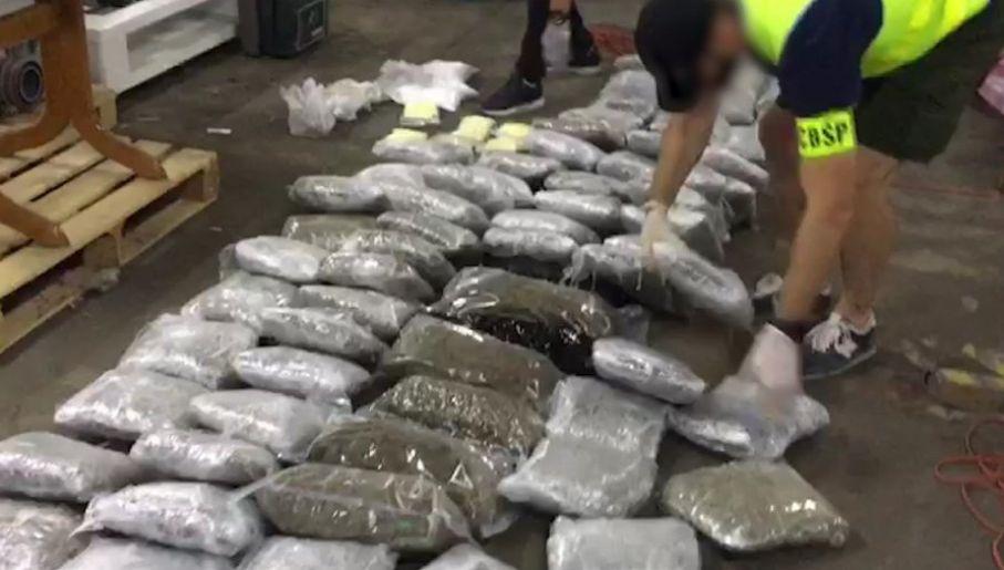 Hurtownia narkotyków odkryta w 2018 r. (fot. CBŚP)