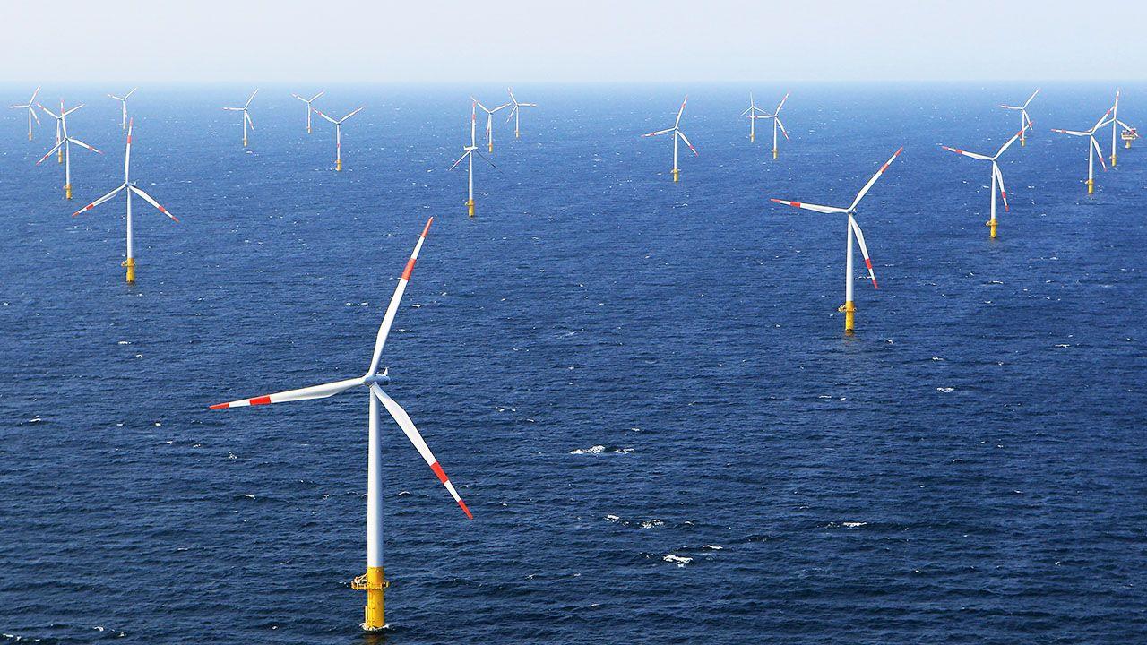 Budowa farmy wiatrowej Baltic Power (fot. J.Pollex/Getty Images, zdjęcie ilustracyjne)