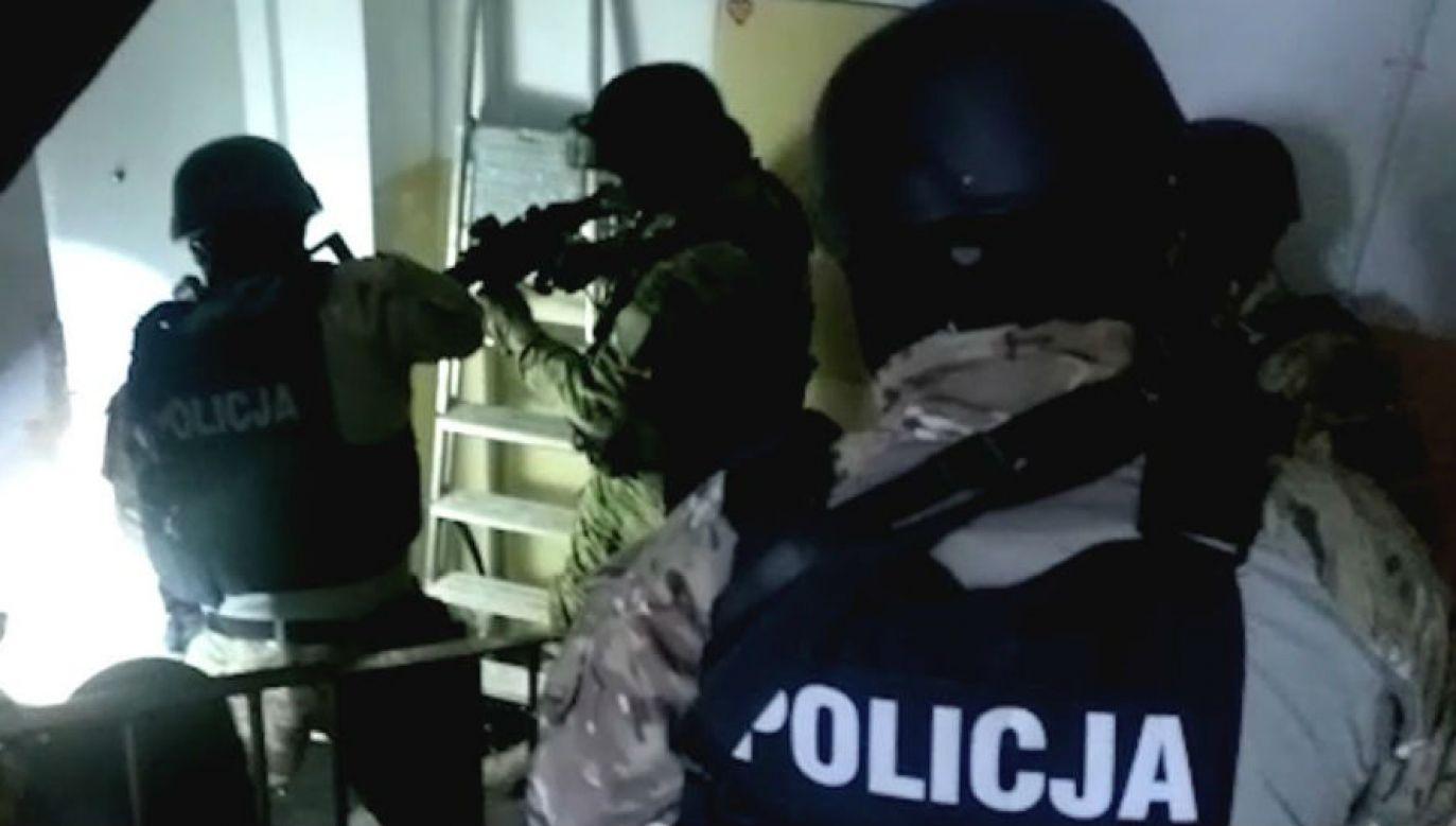 Zatrzymanie wrocławskich handlarzy dopalaczami (fot. CBŚP)