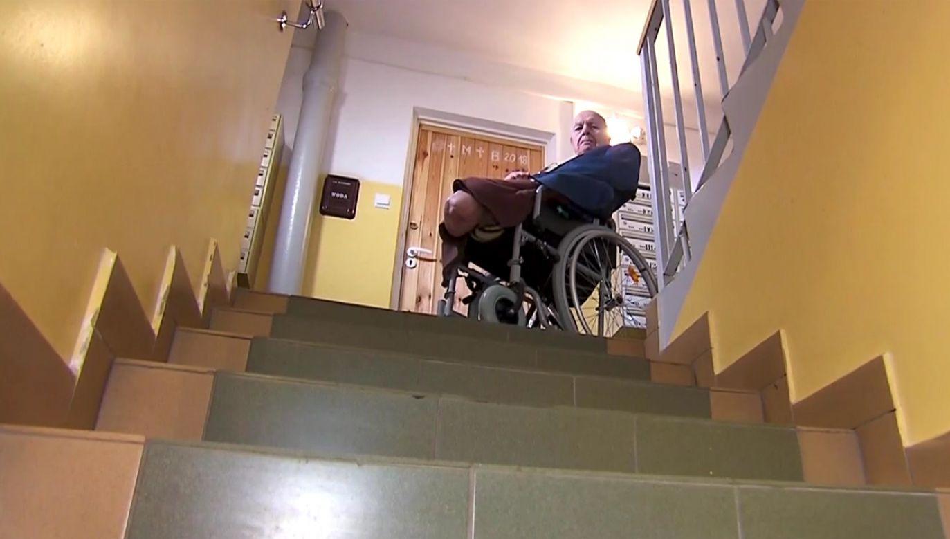 Pan Artur nieraz narażał życie, żeby pomóc innym (fot. TVP)