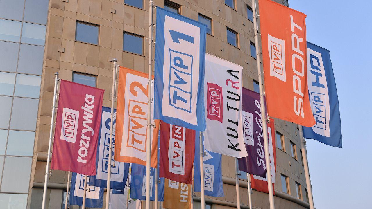 TVP1 liderem oglądalności w maju 2021 roku (fot. arch.PAP/Marcin Kmieciński)