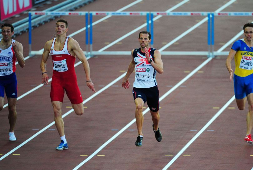 Rhys Williams wygrał bieg na 400 m przez płotki (fot. Getty Images)