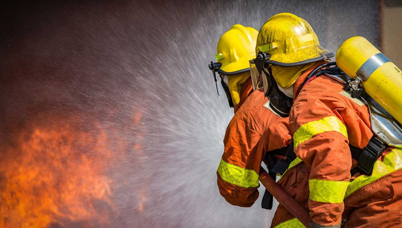 Pożar wybuchł na oddziale położniczym (fot. Shutterstock/Prath)