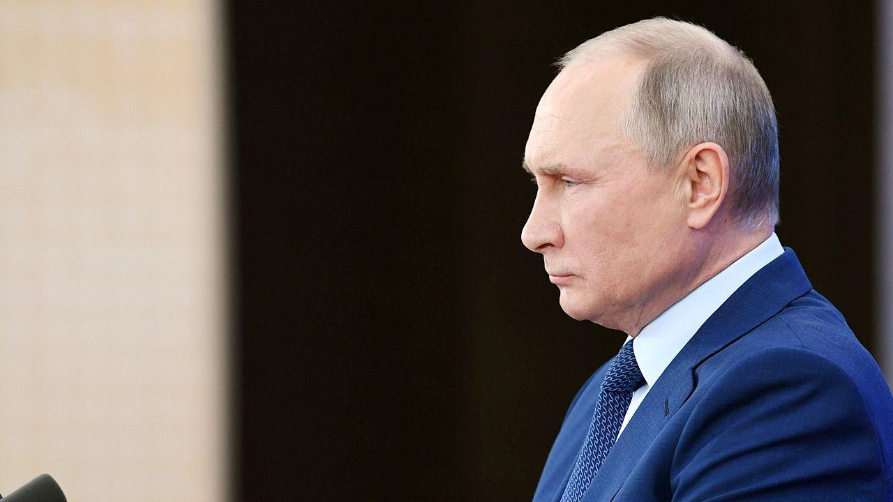 """Nawalny ocenił, że """"wygląda na to, że Putin wpadł w histerię"""". (fot. REUTERS ATTENTION EDITORS)"""