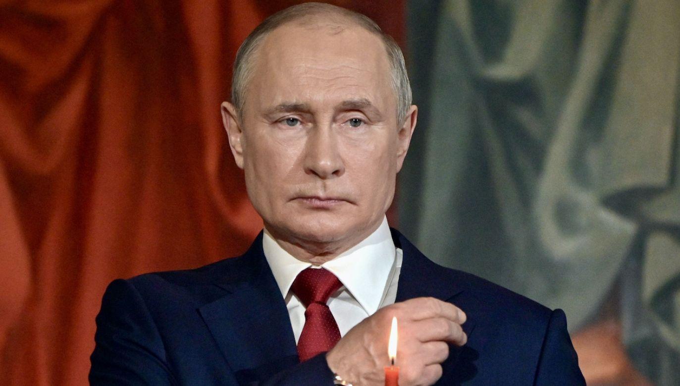 Prezydent Rosji Władimir Putin (fot. PAP/EPA/S.GUNEYEV/SPUTNIK/KREMLIN)