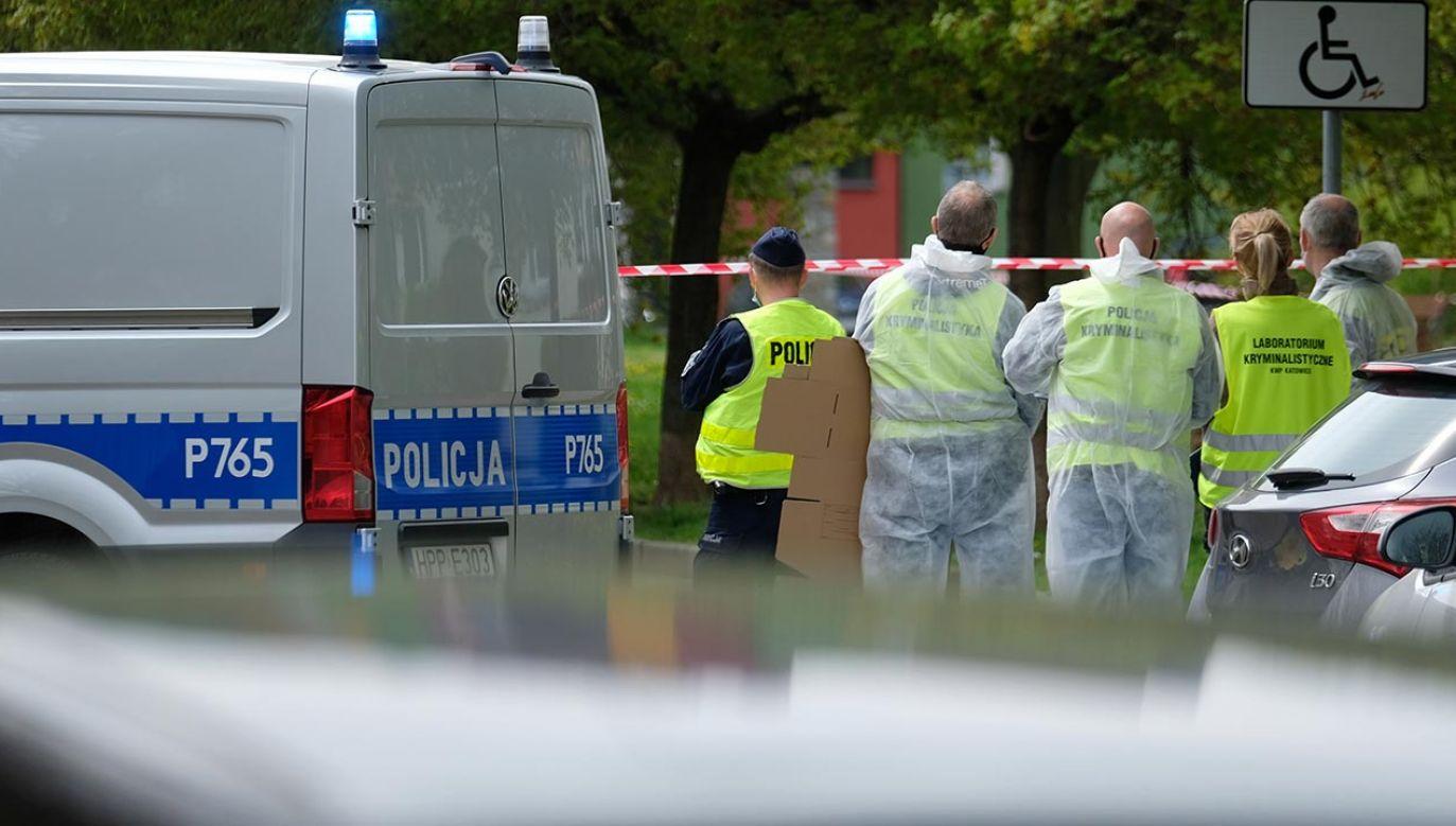 Napastnik zastrzelił policjanta podczas interwencji (fot. PAP/Andrzej Grygiel)
