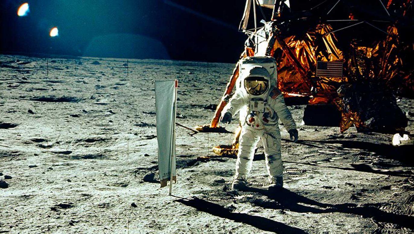 20 lipca przypada 50. rocznica pierwszego załogowego lądowania na Księżycu (fot. REUTERS/Neil Armstrong/NASA/Handout)