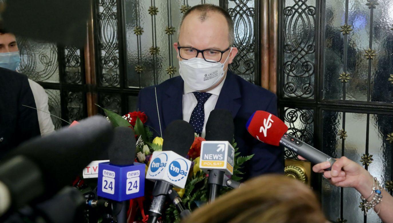Jego aktywność w roli rzecznika była wypełniona radykalnie lewicową agendą (fot. PAP/Wojciech Olkuśnik)
