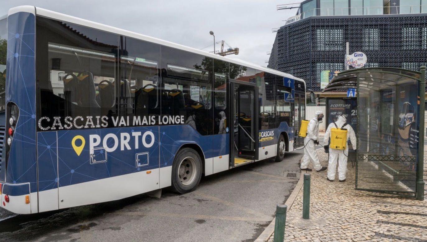 W Portugalii na Covid-19 zmarło już 160 osób (fot. Horacio Villalobos#Corbis/Corbis via Getty Images)