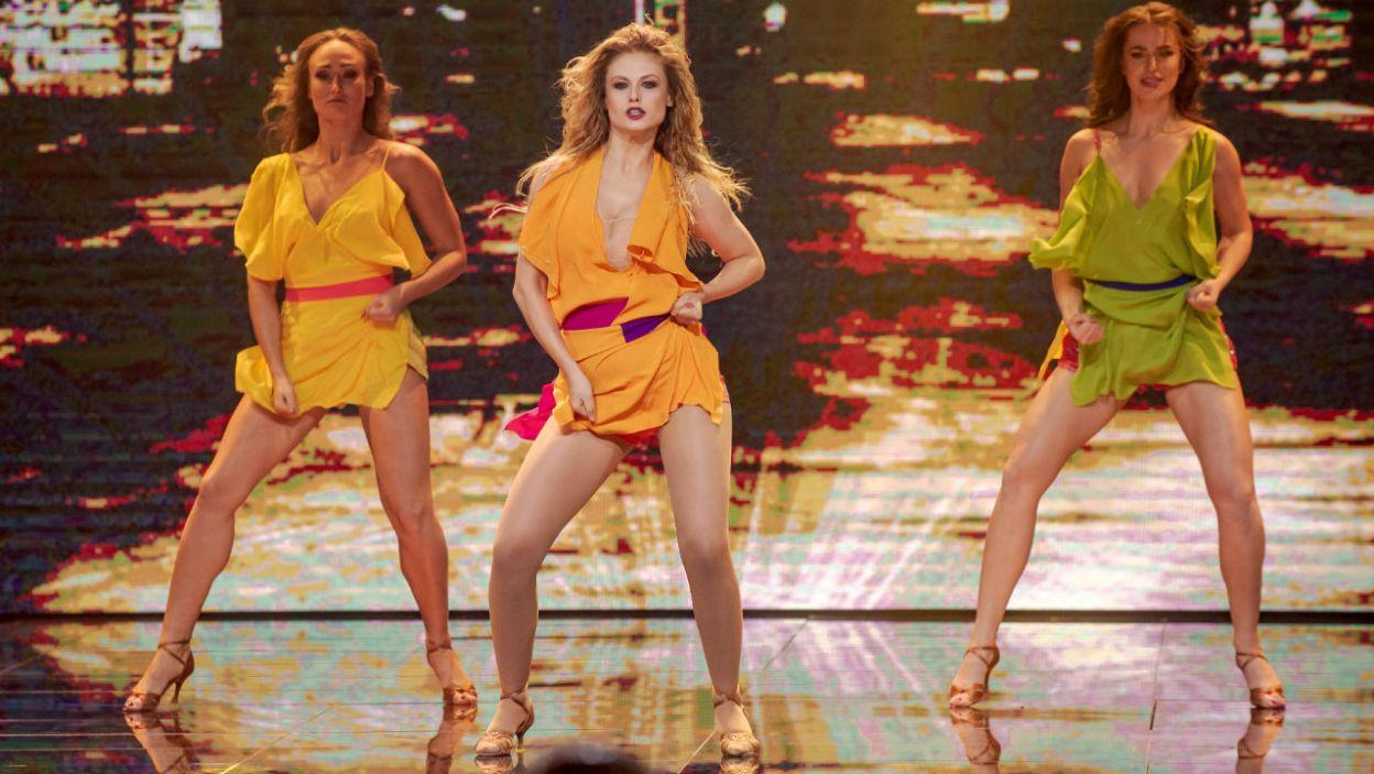 """""""Crazy In Love"""" to niekwestionowany hit! Ani udało się odtworzyć ruchy Beyonce? (fot. TVP)"""