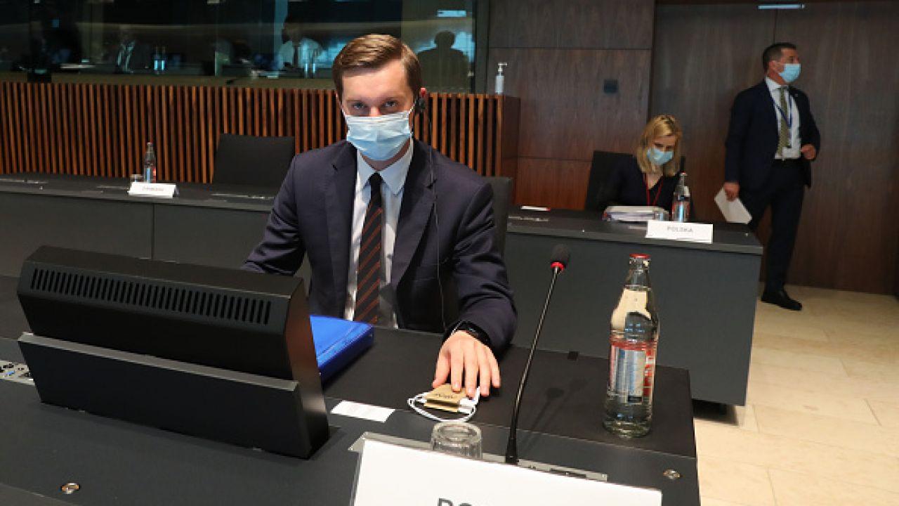 Sebastian Kaleta był też pytany o reakcję Ambasady Izraela (fot. Getty Images)