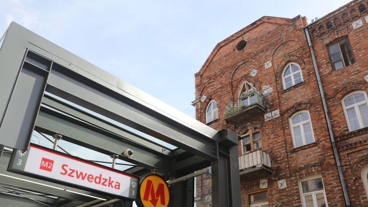 W niedzielę pociągi II linii metra zaczęły kursować nowym odcinkiem wybudowanym na Pradze-Północ i Targówku (fot. PAP/Tomasz Gzell)