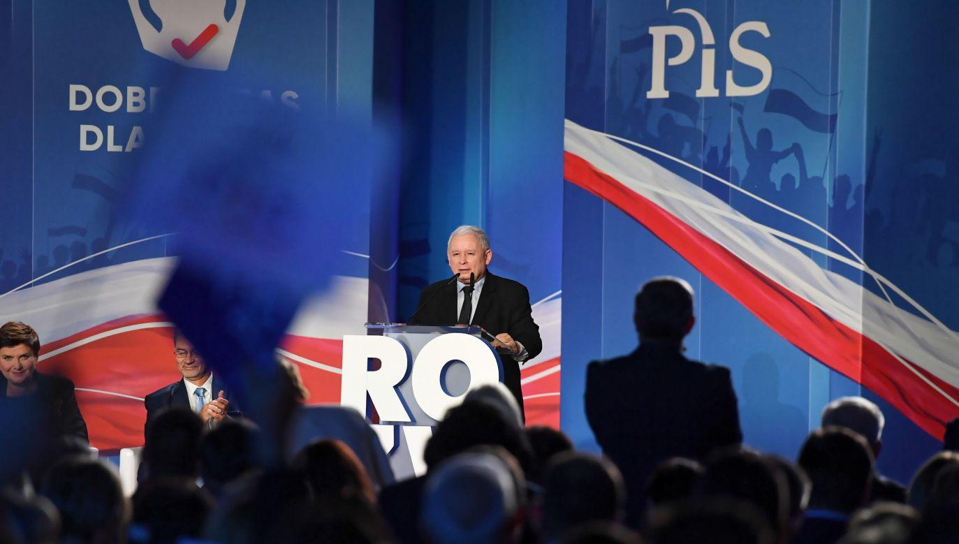 Konwencja PiS w Katowicach (fot.PAP/Piotr Nowak)