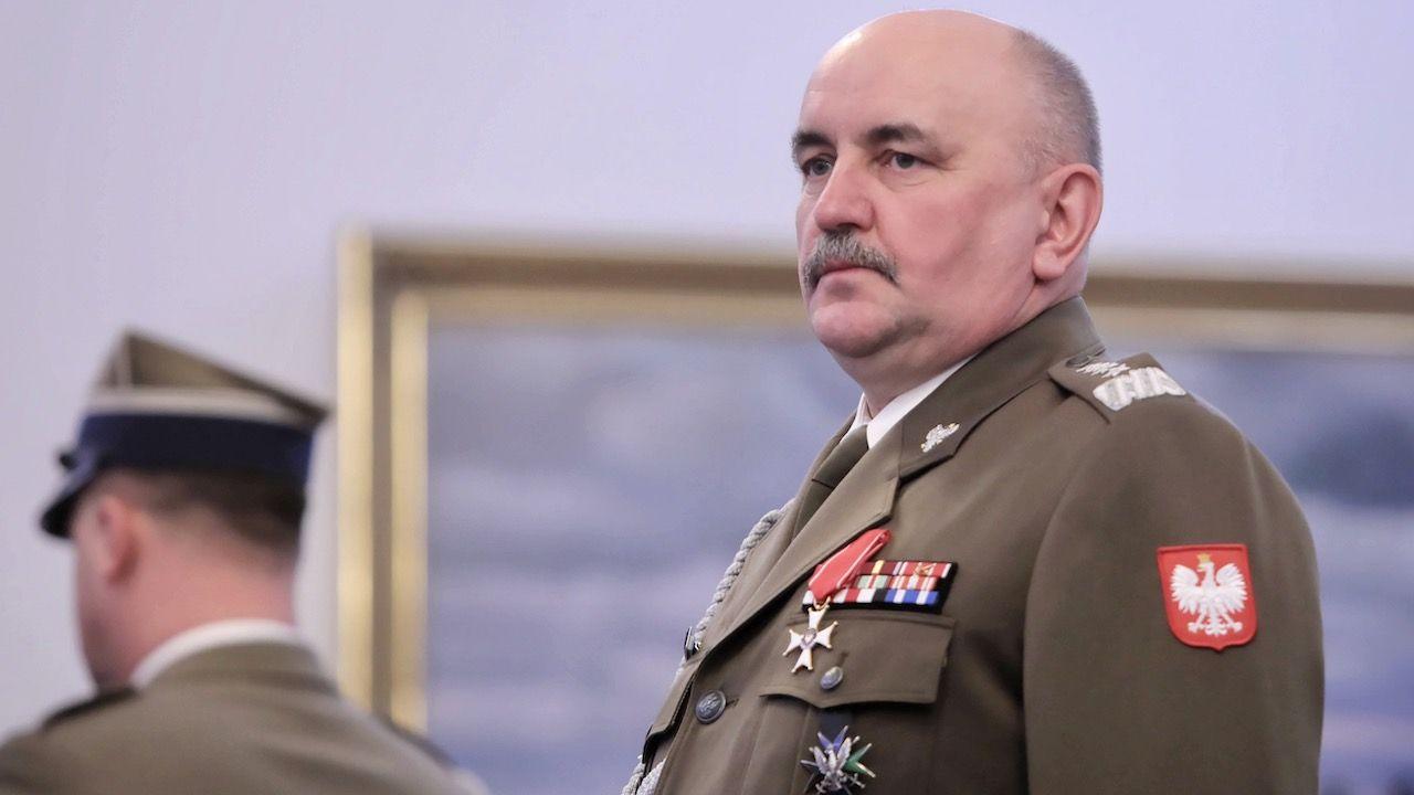 O zakażeniu koranawirusem gen. Miki resort obrony narodowej poinformował 10 marca (fot. arch.PAP/Wojciech Olkuśnik)
