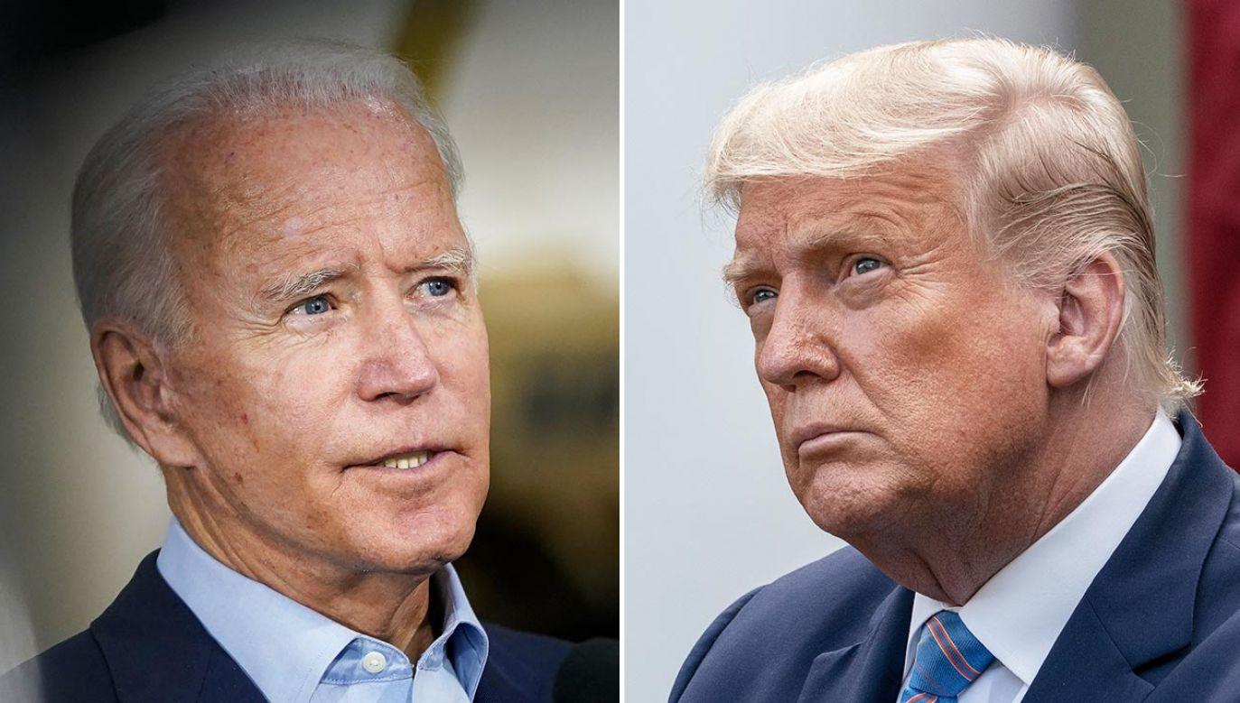 90-minutowy pojedynek zostanie podzielony na 6 segmentów tematycznych (fot.  Drew Angerer/Getty Images; PAP/EPA/Ken Cedeno / POOL)