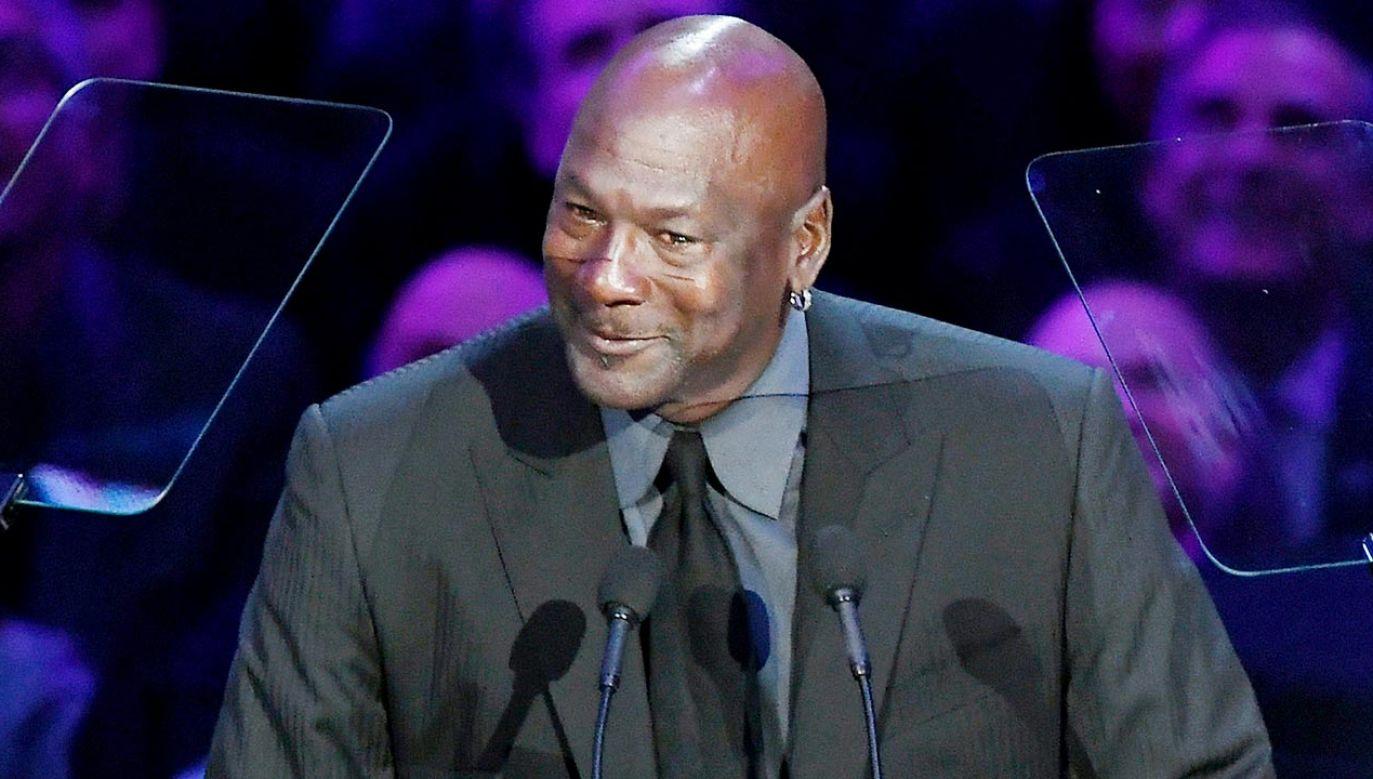 Michael Jordan (fot. Kevork Djansezian/Getty Images)