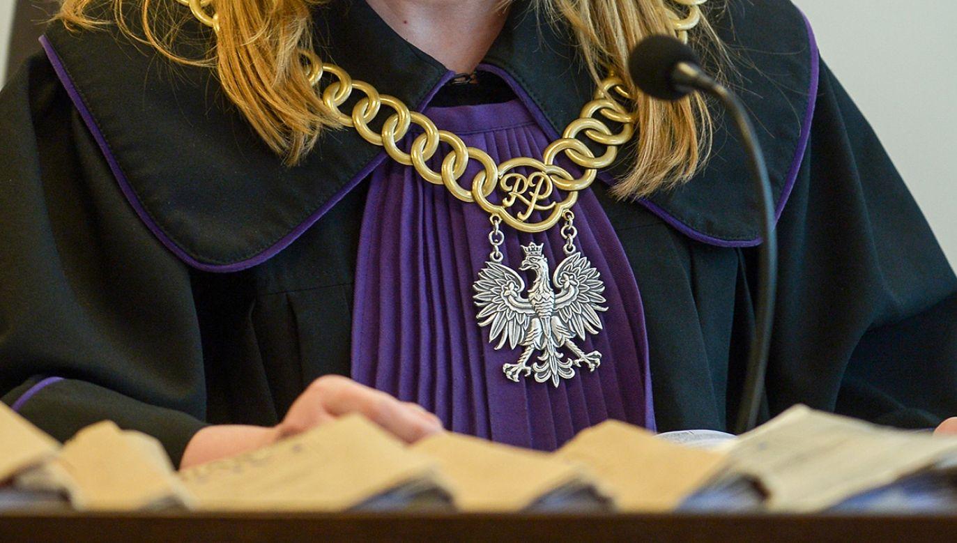 Sędzia Anna B.-C. jest delegowana do pracy w stołecznym sądzie okręgowym (fot. arch.PAP/Marcin Obara)