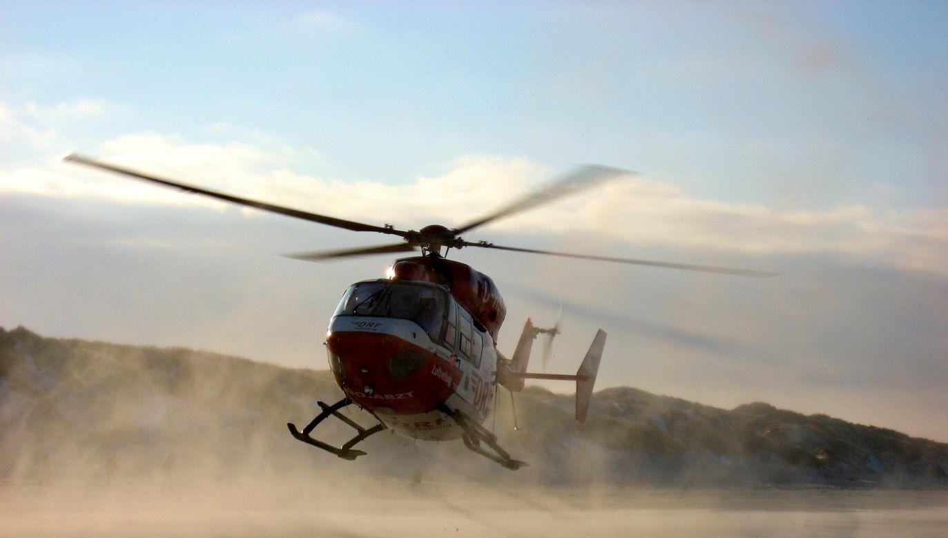 Hansen zobaczyła się z bliskimi i jeszcze tego samego dnia wróciła helikopterem do domu (fot. pixabay.com, zdjęcie ilustracyjne)