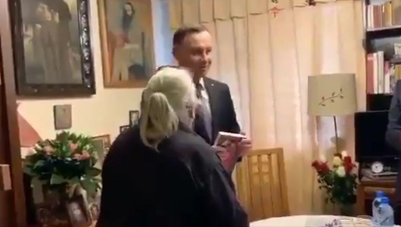 Prezydent odwiedził matkę 17-letniego Emila Barchańskiego, zamordowanego w 1982 r.