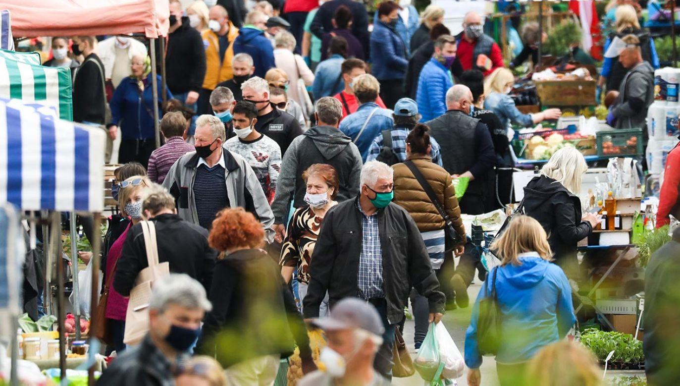Przeciwciała stwierdzono u 55 proc. badanych (fot. Beata Zawrzel/NurPhoto via Getty Images)