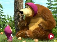 Masza i niedźwiedź, odc. 38 – Wszystko na opak