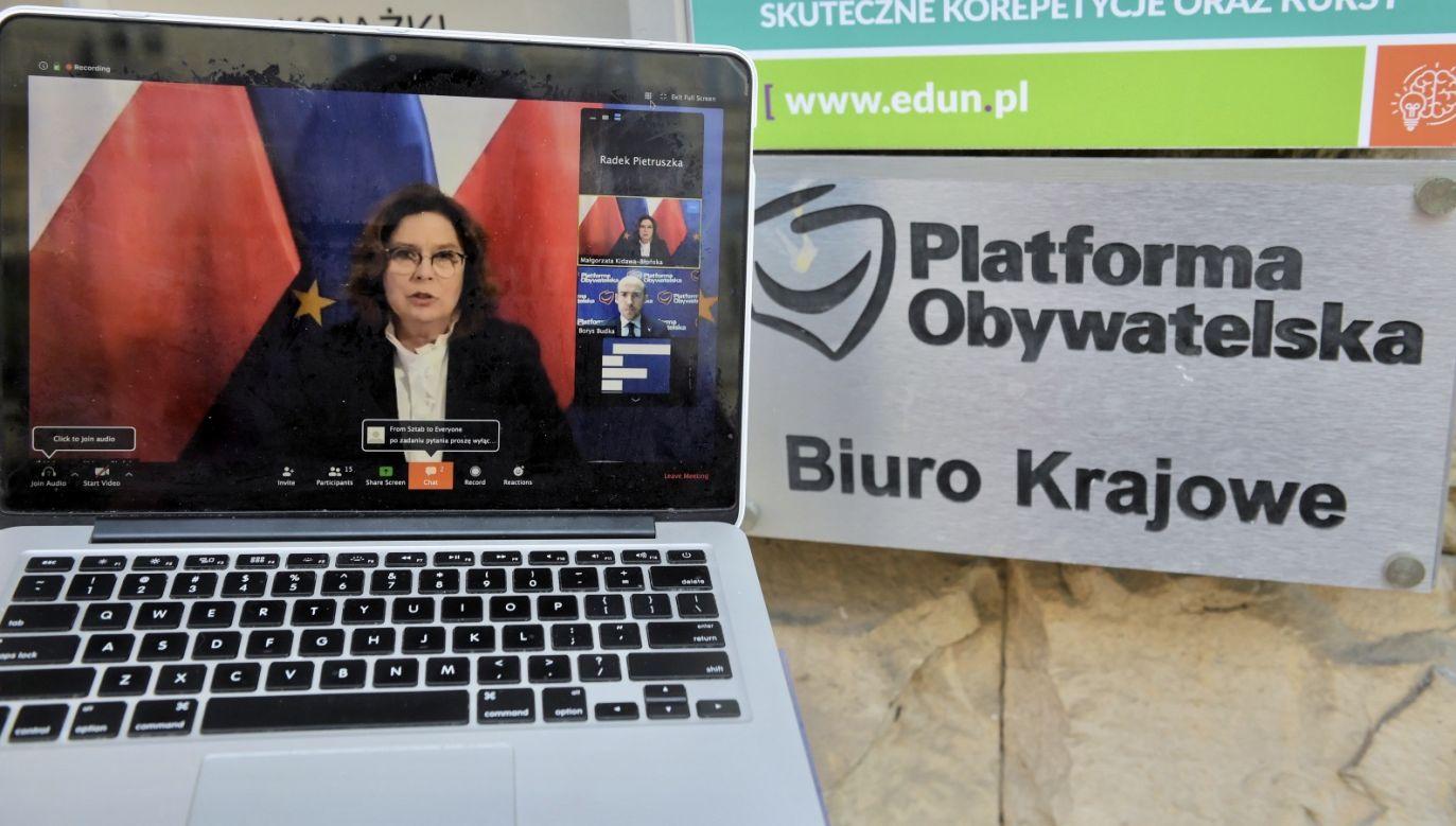 Małgorzata Kidawa-Błońska zwiększyła swoje szanse na Złotego Ryśka 2020 (fot. PAP/Radek Pietruszka)