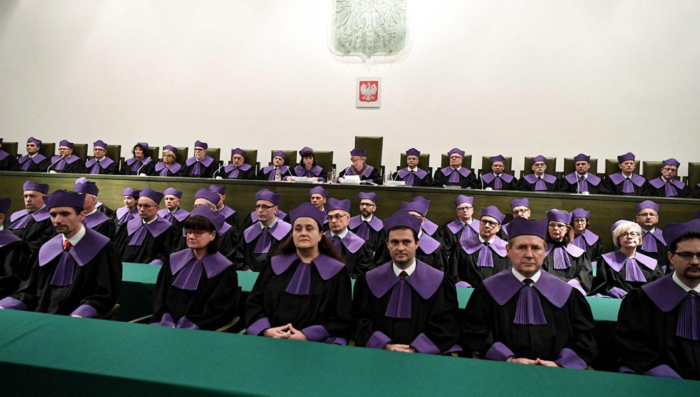 """Paweł Mucha powiedział, że tryb podjęcia uchwały Sądu Najwyższego """"narusza samą ustawę o SN i przepisy proceduralne"""" (fot. arch. PAP/Piotr Nowak)"""