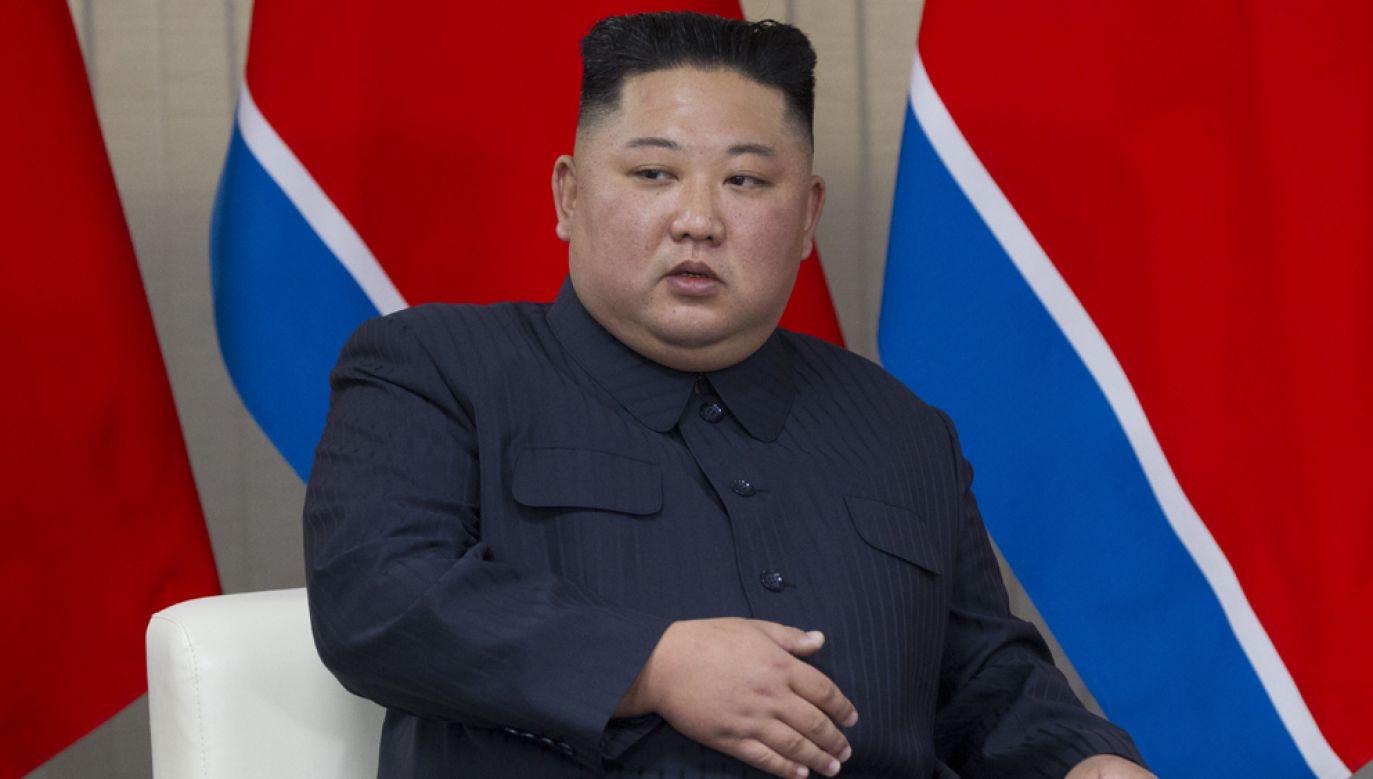 """Według północnokoreańskiego reżimu, Stany Zjednoczone """"mówią ostatnio o dialogu a jednocześnie dokonują pogardliwie wrogich aktów""""(fot. Mikhail Svetlov/Getty Images)"""