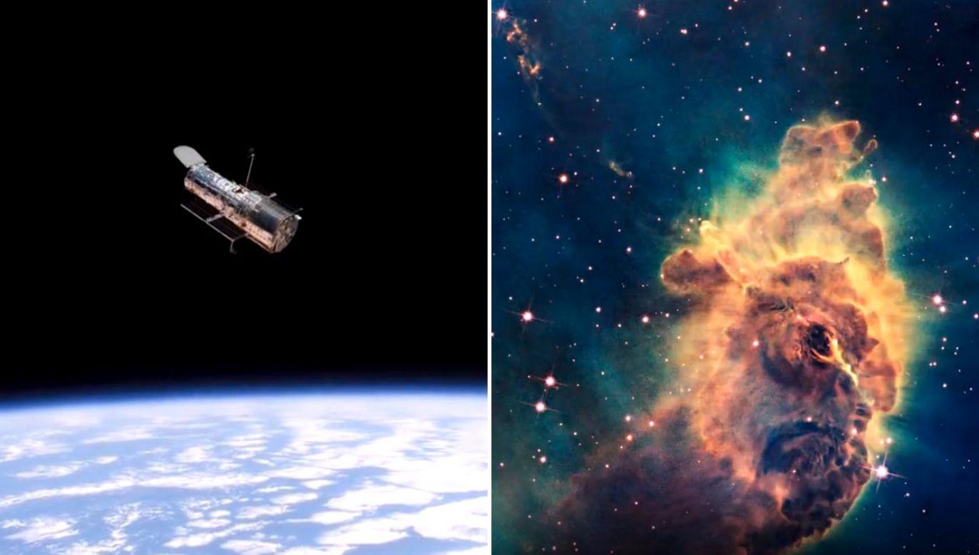 Kosmiczny Teleskop Hubble'a obchodzi 30-lecie pracy (fot. NASA)