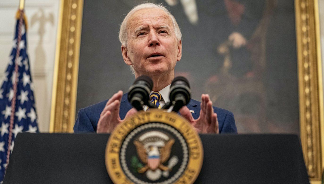 Joe Biden (fot. PAP/EPA/K.Cedeno)