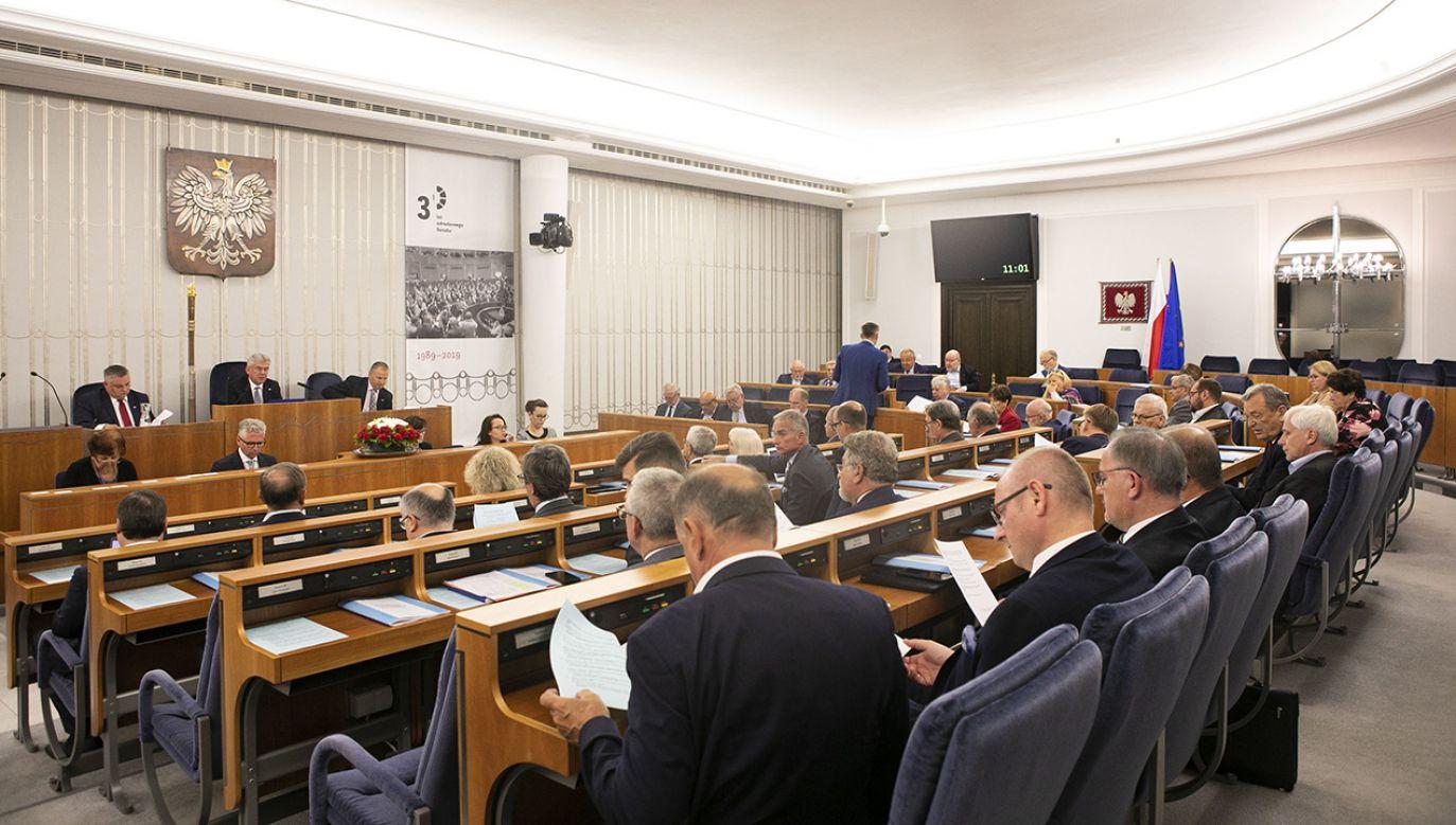 (fot. M. Marchlewska - Kancelaria Senatu)