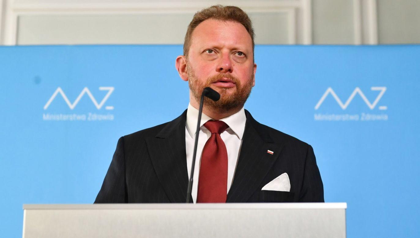 Minister zdrowia Łukasz Szumowski (fot. PAP/Piotr Nowak)