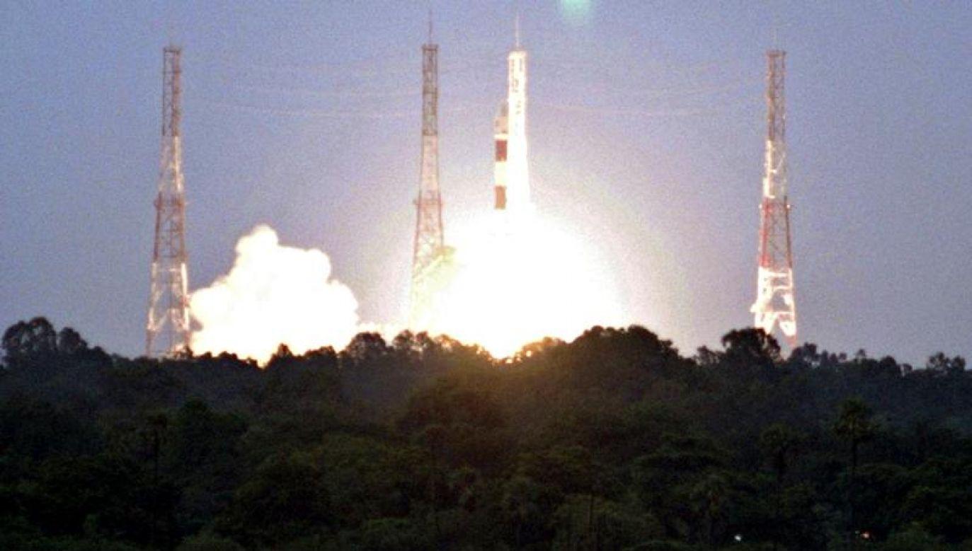 Sonda miała zostać wyniesiona w kosmos przez trójstopniową rakietę (fot. REUTERS/Babu)