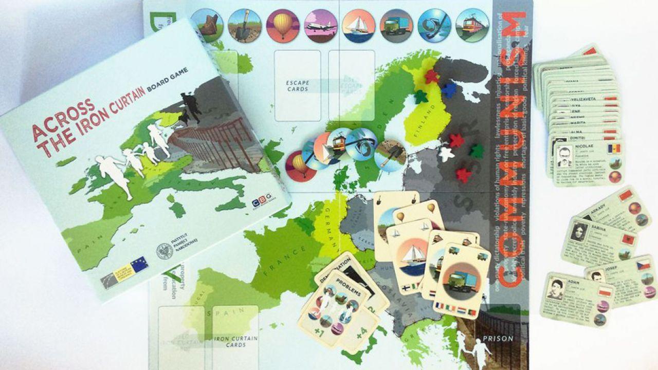 Gra ma za zadanie prezentować historię ludzi którzy uciekli z komunistycznego koszmaru na zachód Europy (fot. ipn.gov.pl)