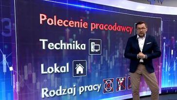 Funkcjonowanie pracy zdalnej wyjaśnił Paweł Blajer (fot.TVP Info)