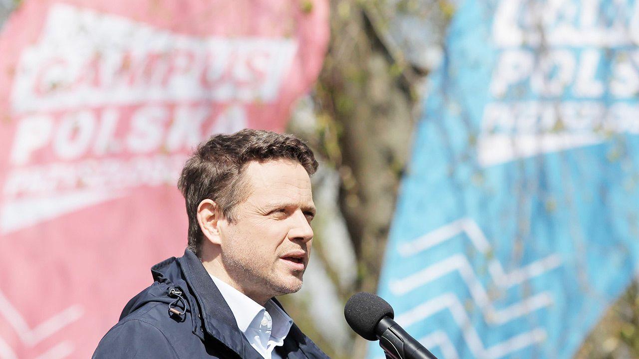 Campus organizuje Ruch Wspólna Polska Rafała Trzaskowskiego (fot. PAP/Tomasz Waszczuk)