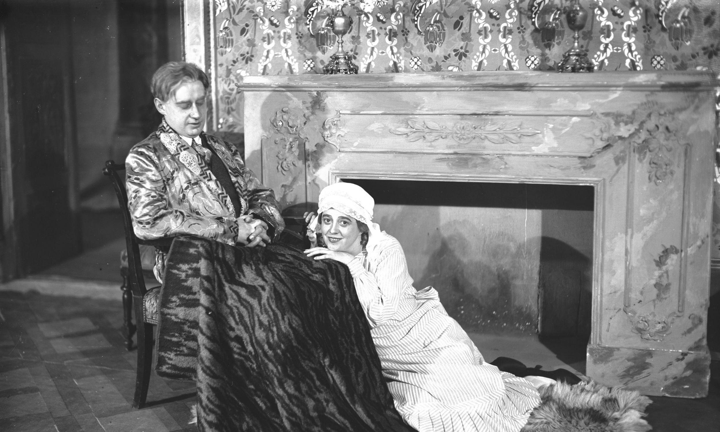 Rok 1926. Wraz z Haliną Starską w przedstawieniu