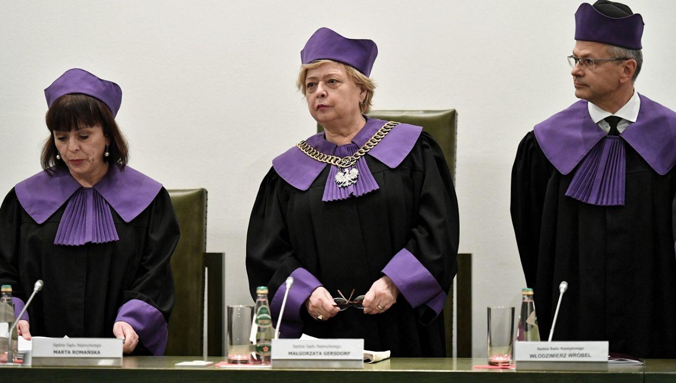 Wiceminister Wójcik skomentował czwartkową uchwałę trzech Izb Sądu Najwyższego (fot.  PAP/Piotr Nowak)