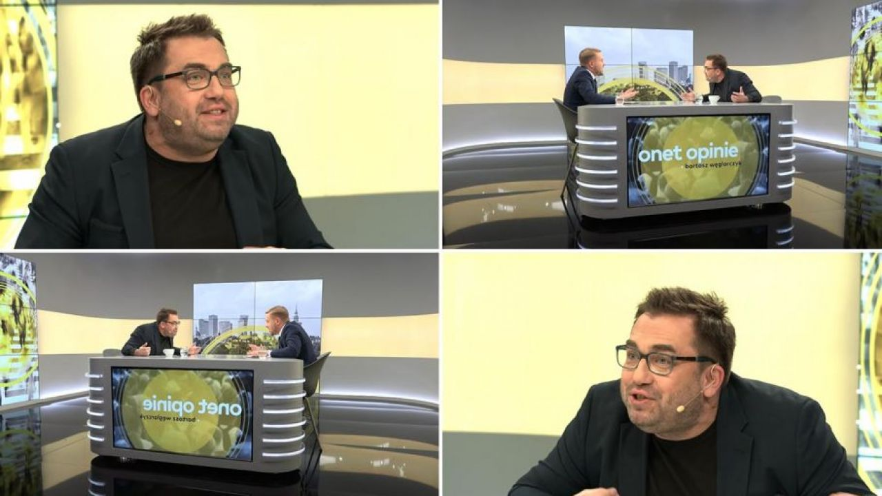 Spięcie dyrektora Onetu z internautą. Bartosz Węglarczyk grozi rozmówcy (fot. Youtube/Onet)