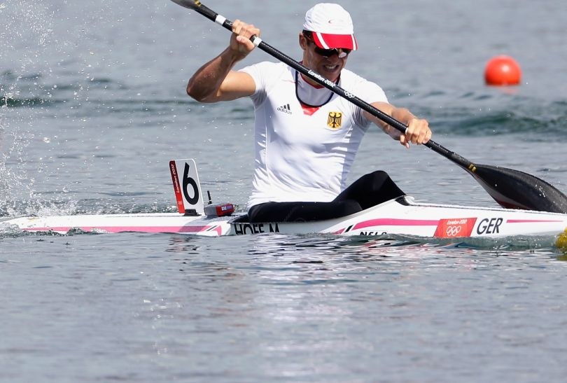 Niemiec Max Hoff awansował z drugim czasem do finału K1 na 1000 metrów (fot. Getty Images)