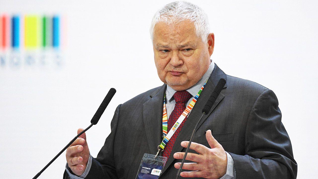 Jak uważa prezes NPB, wzrost PKB w Polsce ukształtuje się w przedziale 3,6-4 proc. (fot. arch.PAP/Darek Delmanowicz)