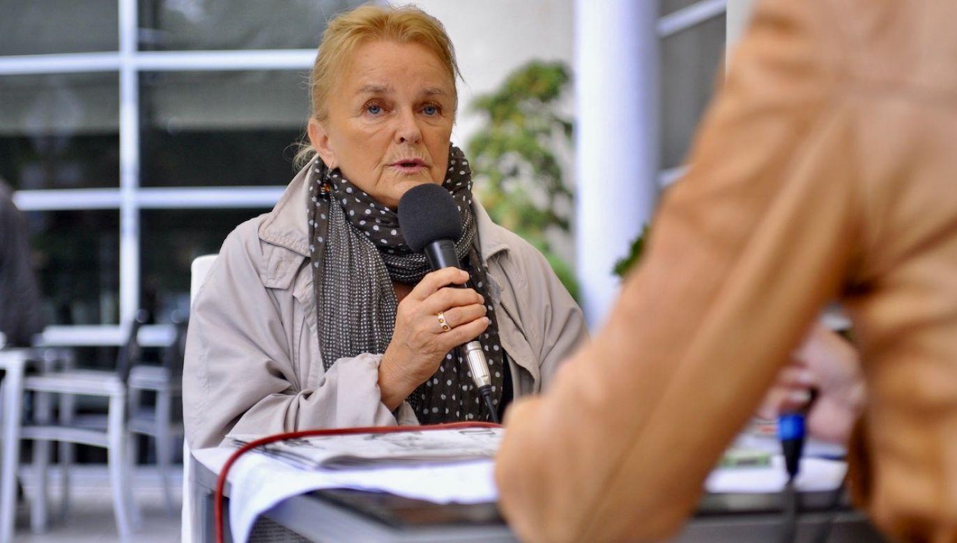 Mieszkająca na emigracji Ewa Kubasiewicz-Houée otwarcie poparła w ostatnim czasie Andrzeja Dudę (fot. Wikipedia/MEDIA WNET)