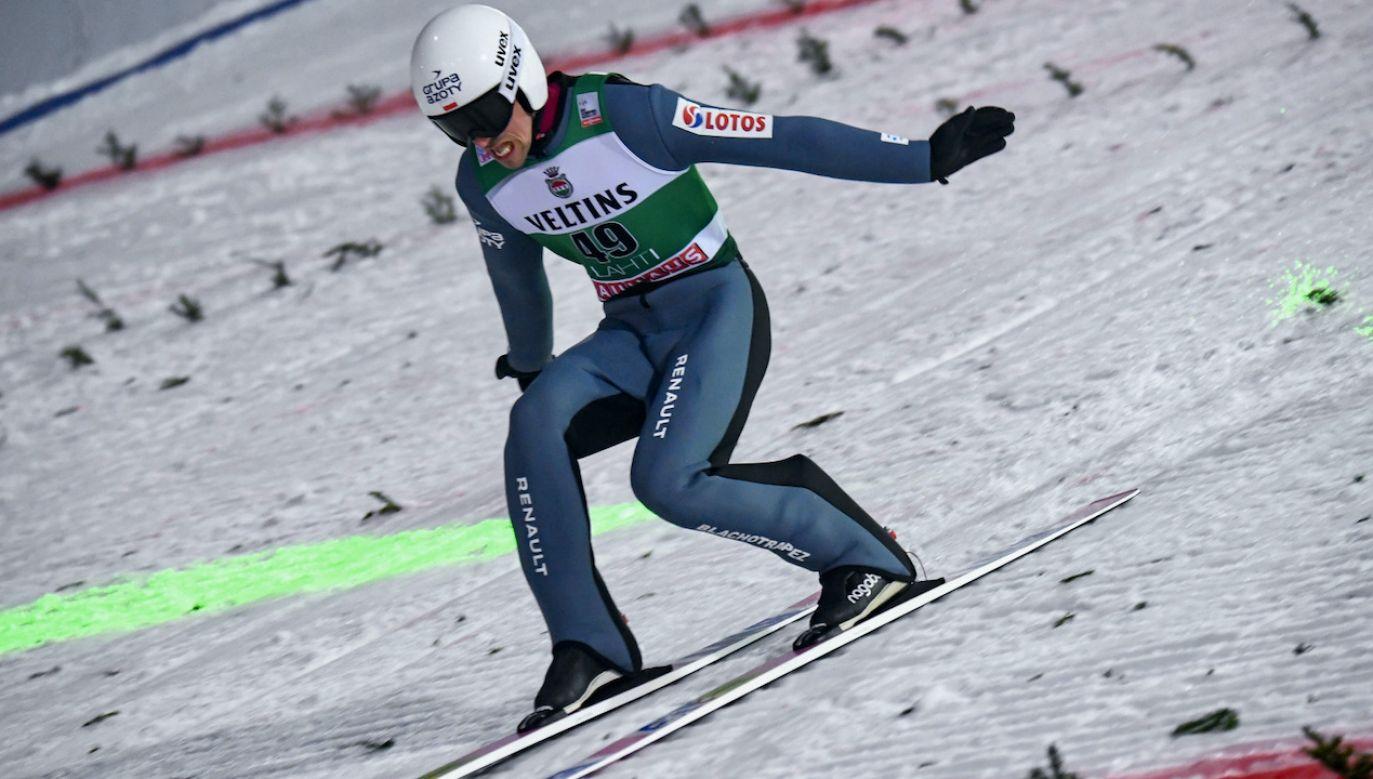 Skoczkowie narciarscy kontynuują rywalizację podczas Pucharu Świata w Lahti (fot. PAP/EPA/K.BRANDT)