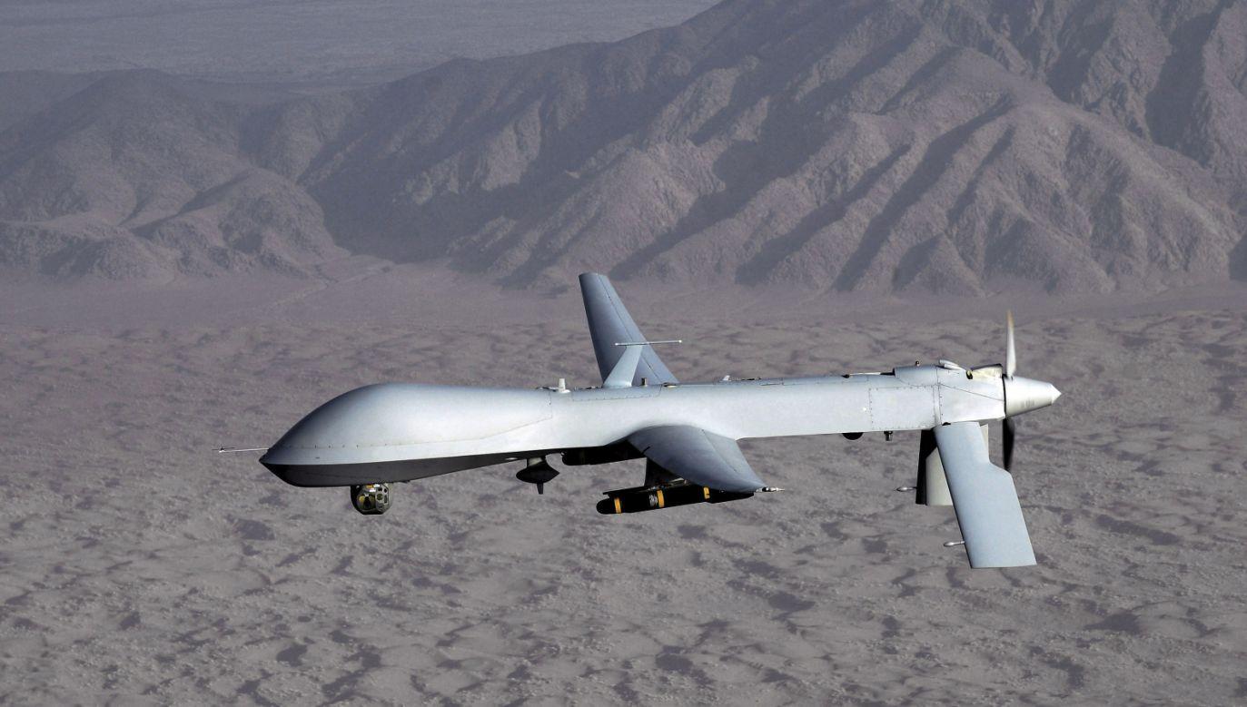 Nie wiadomo dokładnie, kiedy doszło do zestrzelenia maszyny (fot. PAP/EPA/LT. COL. LESLIE PRATT / US AIR FORCE)