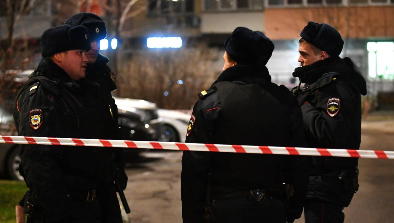 19-letni student strzelał w broni myśliwskiej (fot. arch.PAP/ITAR/TASS/Maxim Grigoryev)